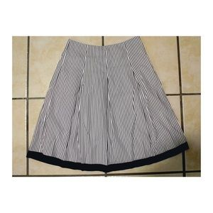 Talbots Striped skirt